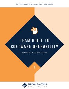 Software Operability - Leanpub thumbnail