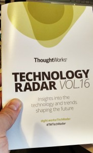 ThoughtWorks tech radar vol.16