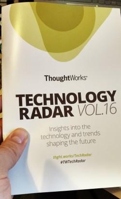 ThoughtWorks tech radar vol.16